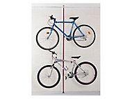 Range-vélos sol/plafond 2 vélos