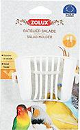 Ratelier à salade Zolux blanc