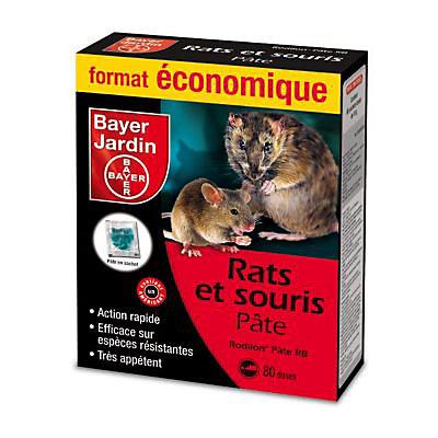 Rats Et Souris Pate Appats 800g Castorama