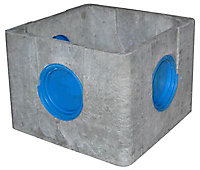 Regard béton allégé Castorama 30 x 30 cm