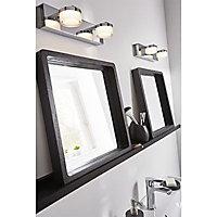 Reglette salle de bains LED Colours Alimia chrome IP44