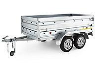 Remorque double essieux Trigano TR901522 280kg + accessoires