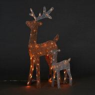 Rennes lumineux LED (2 pièces)