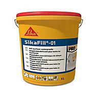 Revêtement d'étanchéité élastique pour toiture grisSika Sikafill-01 5 L