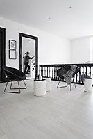 Revêtement sol PVC Saloon Jersey Clear beige 4m (vendu à la coupe)