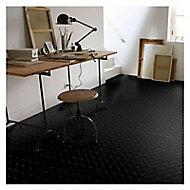Revêtement sol PVC Tarkett Authentic Pastille noir 2m (vendu au m²)