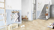 Revêtement sol PVC Tarkett Pluton effet carrelage 4m (vendu au m²)
