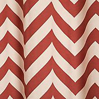 Rideau Colours Don Chrevron rouge 140 x 240 cm