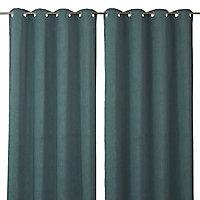Rideau Colours Spanish vert eau 140 x 240 cm