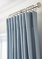 Rideau GoodHome Klama bleu scandinave 140 x 260 cm