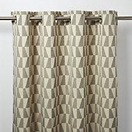 Rideau GoodHome Lindi gris 140 x 260 cm