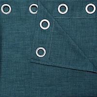 Rideau GoodHome Novan vert 140 x 260 cm