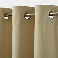 Rideau GoodHome Taowa beige 140 x 260 cm