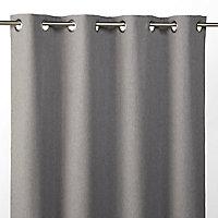 Rideau occultant Best 135 x 240 cm gris clair