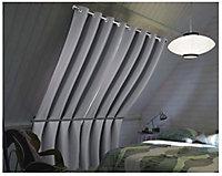 Rideau occultant Minos gris 140 x 240 xm