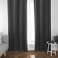 Rideau occultant phonique Louca 140x240cm anthracite