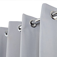 Rideau thermique stop cold gris clair 135 x 240 cm