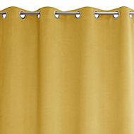 Rideaux 135 x 240 cm ezo jaune