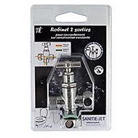 Robinet sanitaire Sanitie-Jet M3/8-Mâle / Femelle3/8