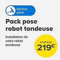 Robot tondeuse 20 V Mac Allister 500 m² 18 cm
