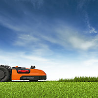 Robot tondeuse 20 V Worx WR130 S300 Landroid 300m² 18 cm