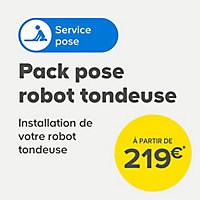 Robot tondeuse 20 V Worx WR155 L2000 Landroid 2000m² 22 cm