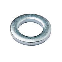 Rondelles plates de taille moyenne en acier inoxydable A2 ø6mm - 10pièces