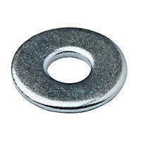 Rondelles plates larges de réparation en acier au carbone ø4mm - 10pièces