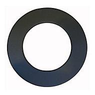 Rosace de finition 100 TZ Noir POUJOULAT