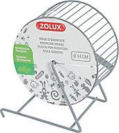 Roue d'exercice métal ø14 cm Zolux gris