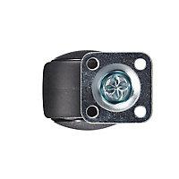 Roulette pivotante à platine pivotante ø35 mm, charge max 30 kg