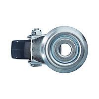 Roulette pivotante sans frein ø50 mm, œil, charge max 40kg