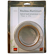 Ruban adhésif aluminium 75 mm x 25 m
