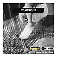 Ruban adhésif toile de réparation Scotch Extremium 18 x 48 mm gris