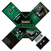 Ruban adhésif toile de réparation Scotch Extremium 27 x 48 mm gris