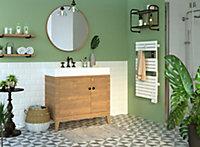 Sèche-serviette électrique à inertie fluide Sauter Asama connecté blanc 500W
