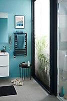 Sèche-serviettes eau chaude GoodHome Loreto vertical anthracite 344 W