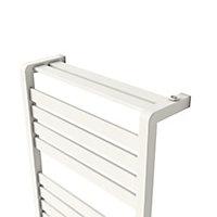 Sèche-serviettes eau chaude Goodhome Loreto vertical blanc 679 W