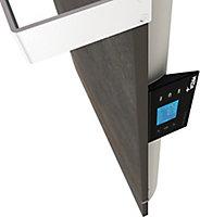 Sèche serviettes à inertie sèche pierre naturelle Mazda Dual Kherr Smart terre lunaire 1000W