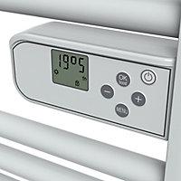 Sèche-serviettes électrique Areni blanc 500W