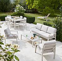 Salon de jardin GoodHome Santorin peyote
