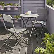 Salon de jardin Holi - Table + 2 chaises