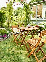 Salon de jardin Viginia - Table + 2 chaises