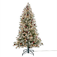 Sapin artificiel Fairview h.183 cm (avec LED)