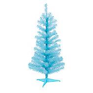 Sapin artificiel Orelle bleu, 3 pieds h.91 cm