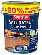 Saturateur Aquaréthane coloris teck Syntilor 5L + 20% gratuit