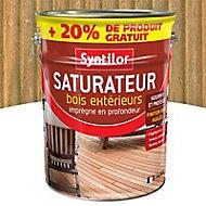 Saturateur bois extérieurs bois exotique Syntilor 5L + 20% gratuit