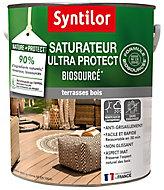 Saturateur bois Nature Protect extérieur Syntilor 5L Mat Teck