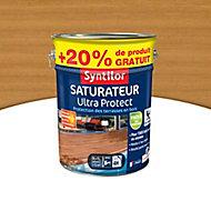 Saturateur Ultra Protect bois clair Syntilor 5L + 20% gratuit