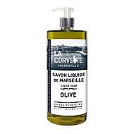 Savon de Marseille liquide La Corvette Savonnerie du midi olive 1L
